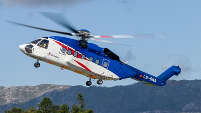 A picture of LNONA - Sikorsky S92A - Bristow Helicopters - © Paul Kalbitz