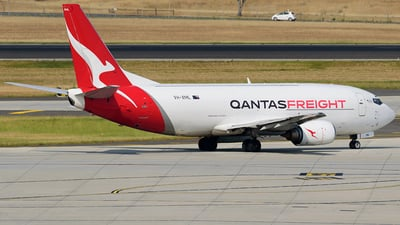 A picture of VHXML - Boeing 737376(SF) - Qantas - © Jeffrey.W