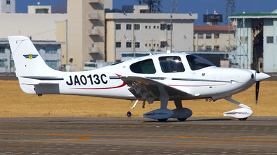 JA013C - Cirrus SR22 - Japan - Civil Aviation College