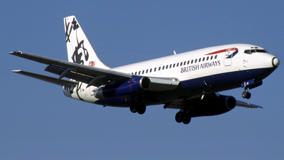 G-BGJE - Boeing 737-236(Adv) - British Airways