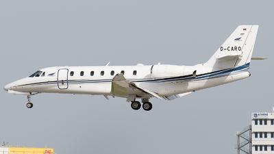 D-CARO - Cessna 680 Citation Sovereign - Aerowest