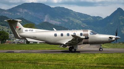 HB-FSD - Pilatus PC-12 NGX - Jetfly Aviation