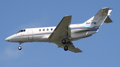 N417TM - Raytheon Hawker 800XP - Private