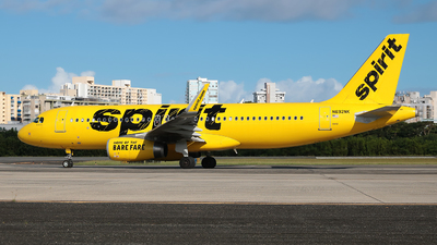 A picture of N692NK - Airbus A320232 - Spirit Airlines - © Angel Natal