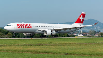 A picture of HBJHK - Airbus A330343 - Swiss - © Thierry Weber