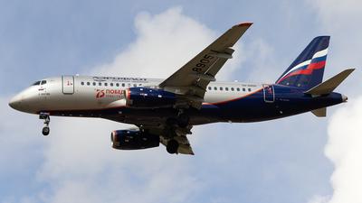 A picture of RA89051 - Sukhoi Superjet 10095B - Aeroflot - © Aleksandr Alekhichev