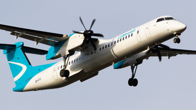 A picture of VHIYJ - De Havilland Canada Dash 8400 - National Jet Express - © Will.Taylor