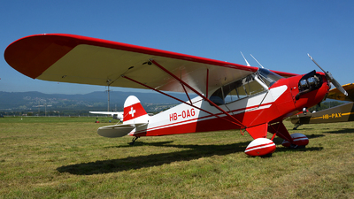 A picture of HBOAG - Piper J3C65 Cub - [12847] - © jeremy denton