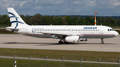A picture of SXDVR - Airbus A320232 - Aegean Airlines - © FlorianWerner