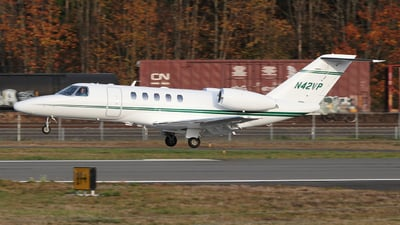 A picture of N42VP - Cessna 525C CitationJet CJ4 - [525C0042] - © SEN BAI