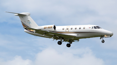 XA-AEB - Cessna 650 Citation III - Private
