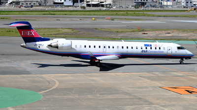 A picture of JA09RJ - Mitsubishi CRJ702ER - Ibex Airlines - © S.Choby