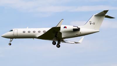 A picture of V11 - Gulfstream IV -  - © Ksavspotter