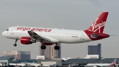 N630VA - Airbus A320-214 - Virgin America