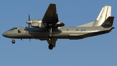 04 - Antonov An-26 - Ukraine - Air Force
