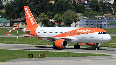 G-EZUW - Airbus A320-214 - easyJet
