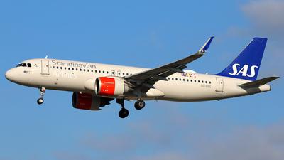 A picture of SEROC - Airbus A320251N - SAS - © Daniel Klein