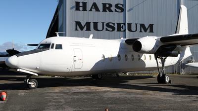 VH-EWH - Fokker F27-500 Friendship - Historical Aircraft Restoration Society (HARS)