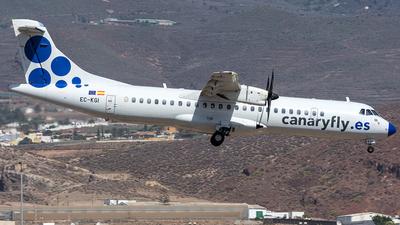 EC-KGI - ATR 72-212A(500) - Canaryfly