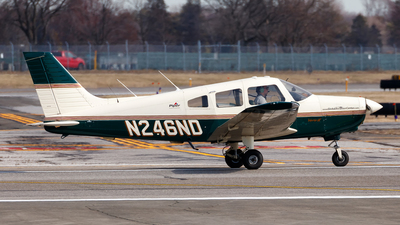 N246ND - Piper PA-28-161 Warrior III - University Of North Dakota