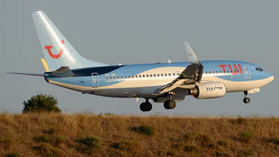 A picture of OOJAL - Boeing 7377K2 - TUI fly - © George Chaidaris