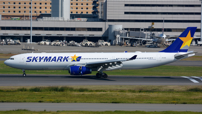 JA330D - Airbus A330-343 - Skymark Airlines