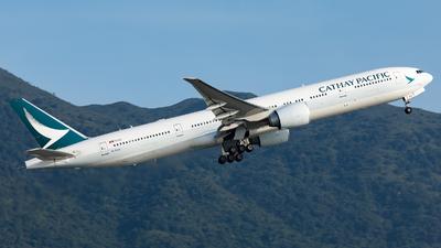 B-KQA - Boeing 777-367ER - Cathay Pacific Airways