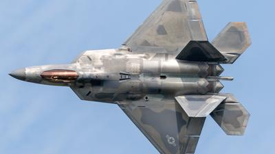 04-4076 - Lockheed Martin F-22A Raptor - United States - US Air Force (USAF)