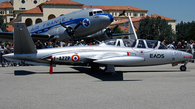F-AZZP - Fouga CM-170 Magister - Private