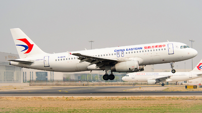 A picture of B6375 - Airbus A320232 - China Eastern Airlines - © Ricardo de Vries
