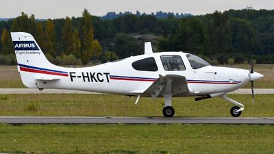 F-HKCT - Cirrus SR20 - Airbus Flight Academy Europe