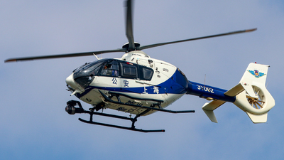 31002 - Eurocopter EC 135 - China - Shanghai Municipal Public Security Bureau Police Aviation Force