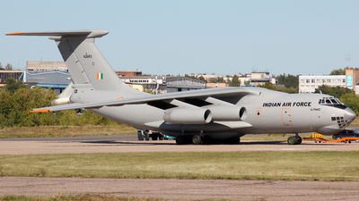 K2663 - Ilyushin IL-76MD - India - Air Force