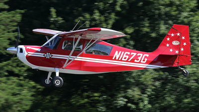 N1673G - Champion 7ECA Citabria - Private