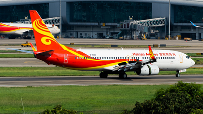 A picture of B1928 - Boeing 73784P - Hainan Airlines - © MerLiLi