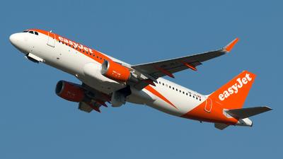 A picture of HBJXJ - Airbus A320214 - easyJet - © Szabó Imre