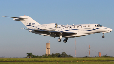 PP-DZE - Cessna 750 Citation X - Private