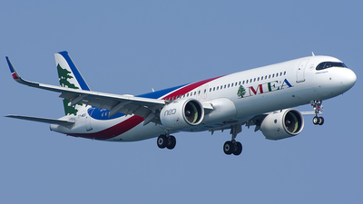 A picture of T7ME6 - Airbus A321271NX - MEA - © Alexandru Chirila