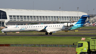 PK-GRC - Bombardier CRJ-1000ER - Garuda Indonesia Explore Jet