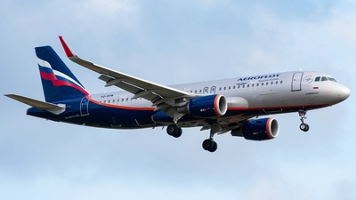 A picture of VQBPW - Airbus A320214 - Aeroflot - © Aleksandr Alekhichev