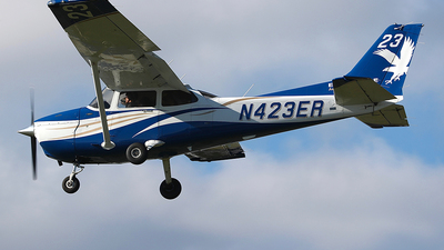 N423ER - Cessna 172S Skyhawk SP - Embry-Riddle Aeronautical University (ERAU)