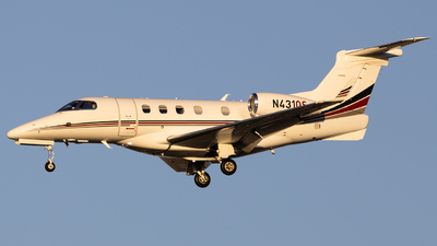 A picture of N431QS - Embraer Phenom 300 - NetJets - © Angelos Panou