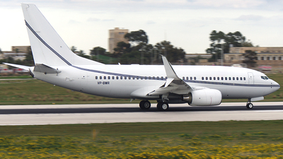 VP-BWR - Boeing 737-79T(BBJ) - Private