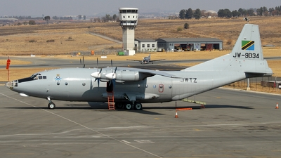 JW-9034 - Shaanxi Y-8F-200 - Tanzania - Air Force