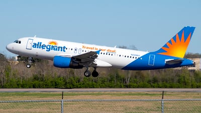 N229NV - Airbus A320-214 - Allegiant Air