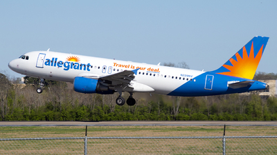 A picture of N229NV - Airbus A320214 - Allegiant Air - © Brady Noble