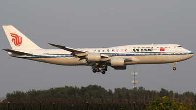 A picture of B2480 - Boeing 74789L - Air China - © Sebastian Shen