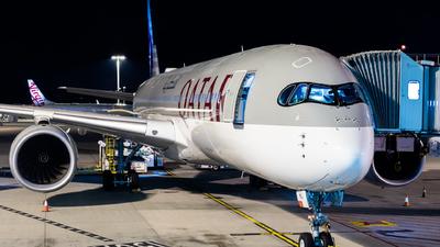A picture of A7AMJ - Airbus A350941 - Qatar Airways - © Daniel Kotronis