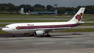 HS-TAC - Airbus A300B4-601 - Thai Airways International