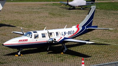 LN-BEO - Piper PA-60 601B Aerostar  - Private